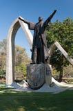 纪念碑佩德罗Alvares Cabral在São保罗巴西。 免版税库存照片