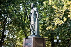 纪念碑加里宁 免版税图库摄影