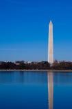 纪念碑反映华盛顿 免版税库存照片