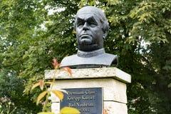 纪念碑向塞巴斯蒂安Kneipp 免版税图库摄影