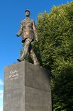 纪念碑向夏尔・戴高乐-波兰 免版税库存图片