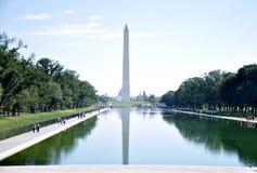 纪念碑国民华盛顿 库存照片