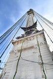 纪念碑圈子在印第安纳波利斯 库存照片
