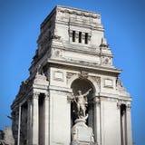 纪念碑在伦敦 免版税库存照片