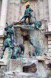 纪念碑在匈牙利首都布达佩斯 库存图片