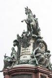 纪念碑在圣彼得堡 免版税库存图片