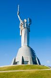 纪念碑在基辅 免版税图库摄影