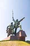 纪念碑在塞瓦斯托波尔 库存图片