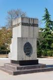 纪念碑在塞瓦斯托波尔 库存照片
