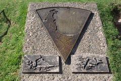 纪念碑在布宜诺斯艾利斯,阿根廷 库存图片