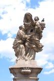 纪念碑在布拉格 库存图片