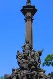 纪念碑在布拉格 免版税库存照片