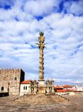 纪念碑在波尔图,葡萄牙 库存照片