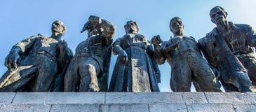 纪念碑在特雷比涅 免版税库存照片