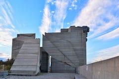 纪念碑在舒门,保加利亚 库存图片