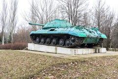 纪念碑坦克IS-3M 免版税库存照片
