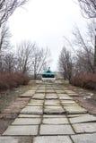 纪念碑坦克IS-3M 免版税库存图片
