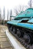 纪念碑坦克IS-3M 库存图片