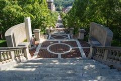 """纪念碑大阳台†""""林奇堡,弗吉尼亚,美国 免版税库存照片"""