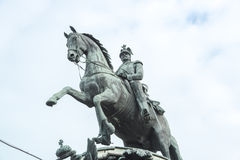 纪念碑尼古拉斯我,圣彼得堡 免版税图库摄影