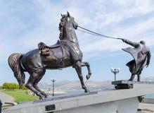 纪念碑成群外出 新罗西斯克 免版税库存照片