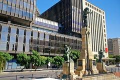 纪念碑战争纪念品,开普敦(南非) 库存图片