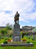 纪念碑战士苏联 新格鲁多克,白俄罗斯 库存照片