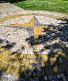 纪念碑指南针 库存图片