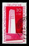 纪念碑法西斯主义受害者,全国纪念品serie,大约1961年 图库摄影