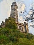 纪念碑纳尔逊爱丁堡 库存照片