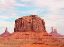 纪念碑美国犹他谷 免版税库存照片