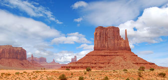纪念碑美国犹他谷 免版税图库摄影