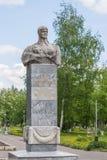 纪念碑胸象NV Babushkina,马里埃尔共和国,约什卡尔奥拉,俄罗斯共和国 05/21/2016 免版税库存照片