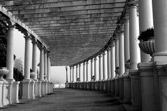纪念碑荫径波尔图葡萄牙 免版税库存图片