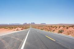 纪念碑谷和U S 途径163 图库摄影