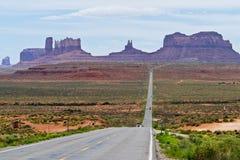 纪念碑谷看法高速公路163 库存图片