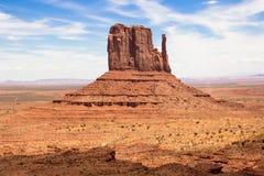 纪念碑谷西部手套小山美国美国 库存照片