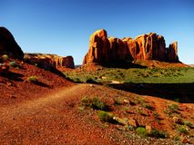 纪念碑谷那瓦伙族人部族公园,亚利桑那 免版税库存照片