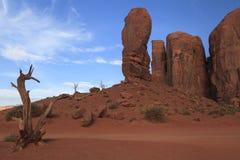 纪念碑谷那瓦伙族人部族公园 免版税库存图片
