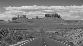 纪念碑谷高速公路 库存照片