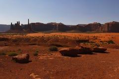 纪念碑谷,犹他,美国 免版税库存图片