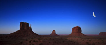 纪念碑谷,犹他,美国唯一横向 免版税库存图片