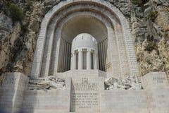 纪念碑辅助Morts战争纪念品 免版税库存图片
