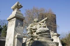纪念碑,波兹毛斯,汉普郡 免版税库存照片