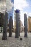 纪念碑致力拉乌尔・瓦伦贝格在曼哈顿 免版税图库摄影