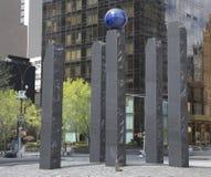 纪念碑致力拉乌尔・瓦伦贝格在曼哈顿 免版税库存图片