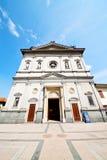 纪念碑建筑学在意大利欧洲和阳光 库存照片