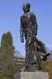 纪念碑n ostrovsky s索契 免版税图库摄影