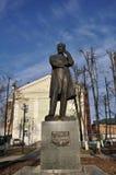 纪念碑P 我 tchaikovsky 库存图片