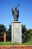 纪念碑Pomnik Sw Wojciecha 库存图片